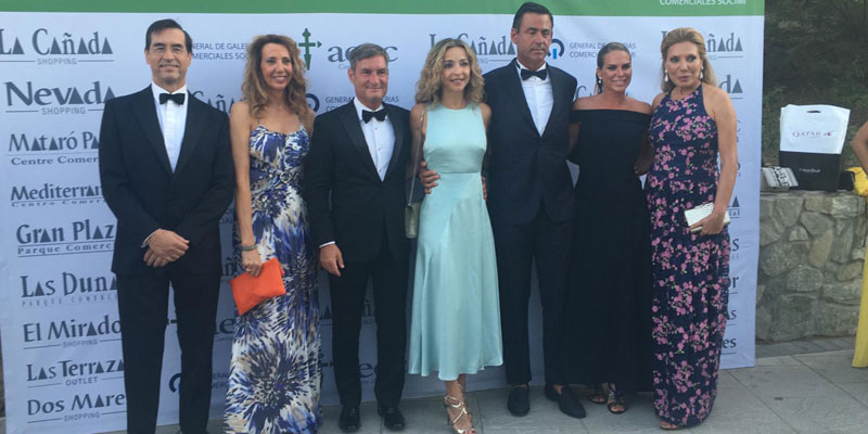 La firma Maribel Yébenes participa en la 36ª gala de la AECC en Marbella