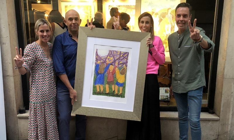 La galería de arte Herráiz celebra la 7ª edición de 'Cuadro solidario'