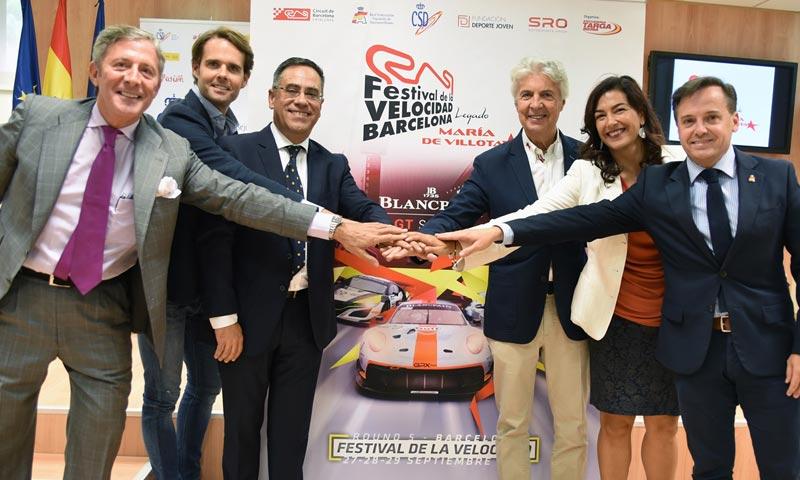 El Festival de la Velocidad de Barcelona se suma al Legado de María de Villota