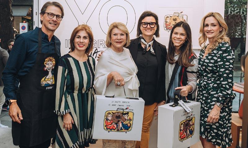 La artista venezolana Rayma Suprani inaugura su exposición 'Yo inmigrante' en Madrid