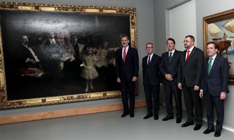 El rey Felipe VI inaugura la nueva sede de la Fundación María Cristina Masaveu Peterson