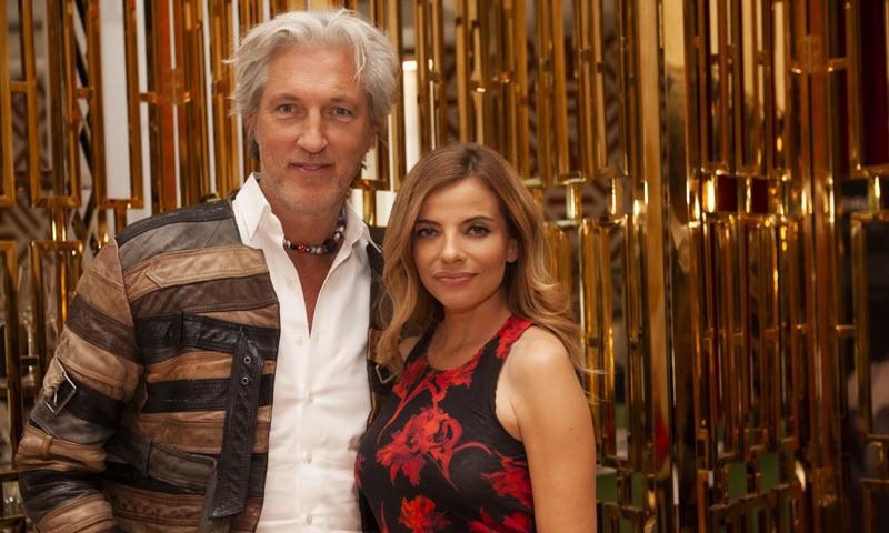 Raquel Oliva recibe, por todo lo alto, al diseñador Marcel Wanders
