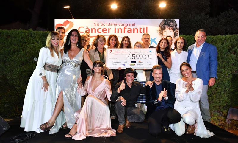 Manu Tenorio y Gisela, unidos contra el cáncer infantil