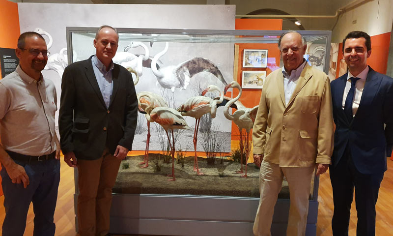 El Marqués de Griñón e Iván Espinosa de los Monteros visitan la exposición 'Naturalezas recreadas'