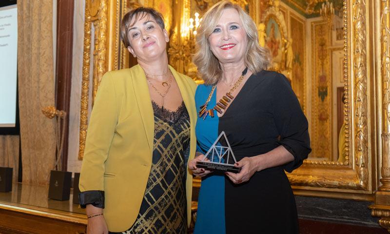 Nieves Herrero, premiada por su compromiso con la moda madrileña