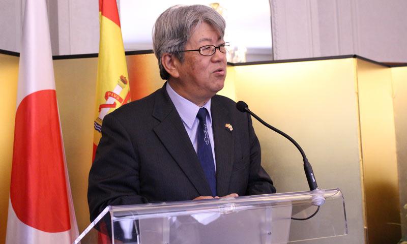 El embajador del Japón en España se despide de nuestro país