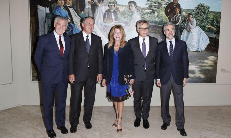 La Baronesa Thyssen inaugura la exposición 'Los impresionistas y la fotografía'