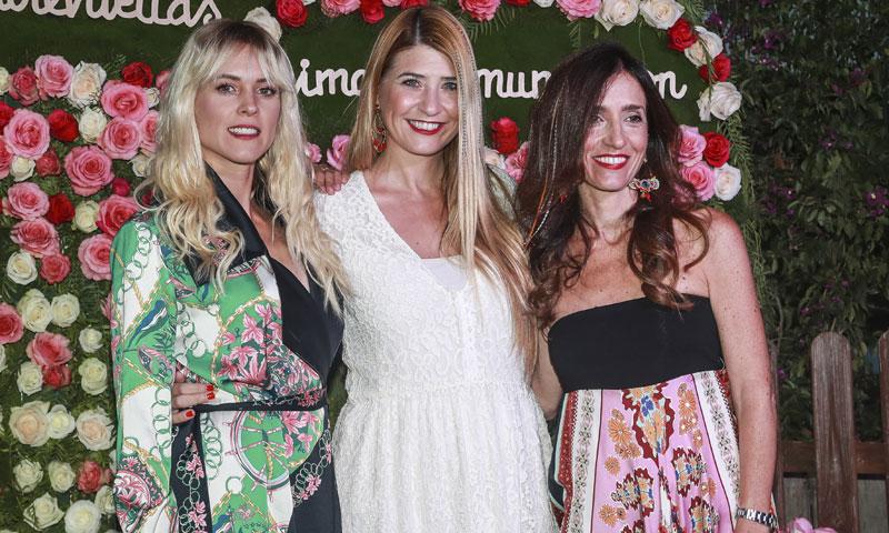 Maggie Civantos y Fernando Andina, dos invitados de excepción en una fiesta en Ibiza