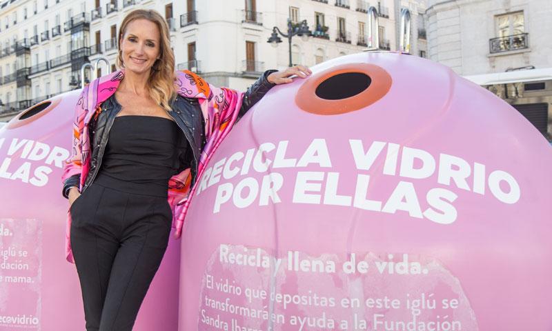 Sandra Ibarra presenta la iniciativa 'Recicla por ellas'
