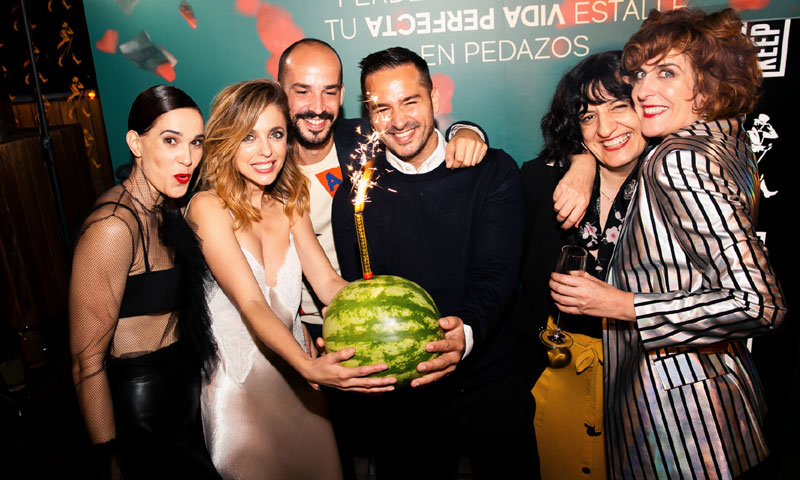 Leticia Dolera celebra, por todo lo alto, el estreno de su serie 'Vida perfecta'