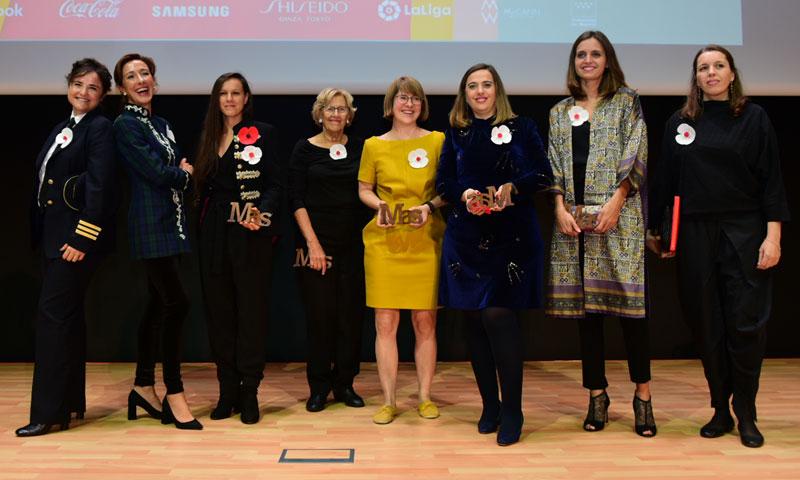 Manuela Carmena, Ana Pastor y Joana Pastrana, tres 'Mujeres a seguir'