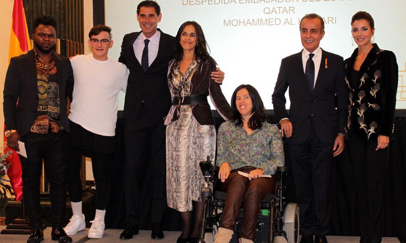 El embajador de Qatar dice 'hasta luego' a nuestro país en una emotiva fiesta