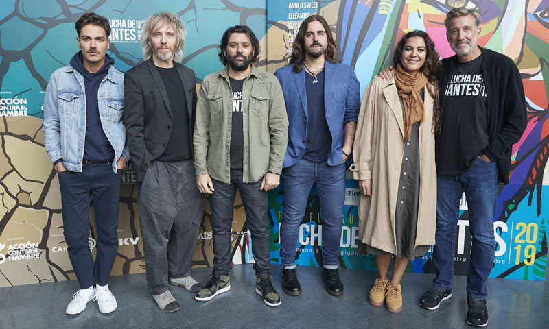 Emilio Aragón presenta el concierto solidario 'Lucha de gigantes'