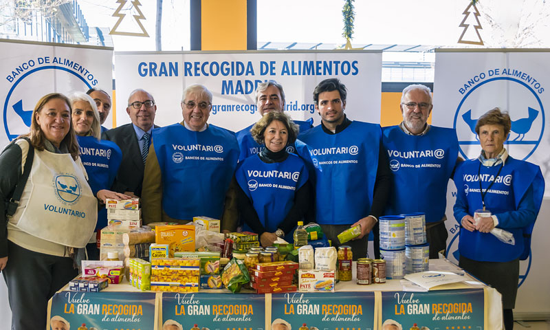 Súmate a la 'Gran recogida de alimentos' en Madrid