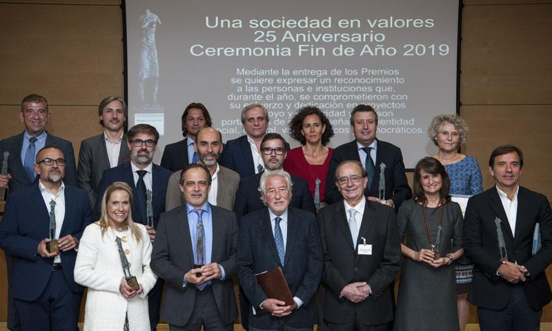 Los Premios Ciudadanos celebran su 25º aniversario