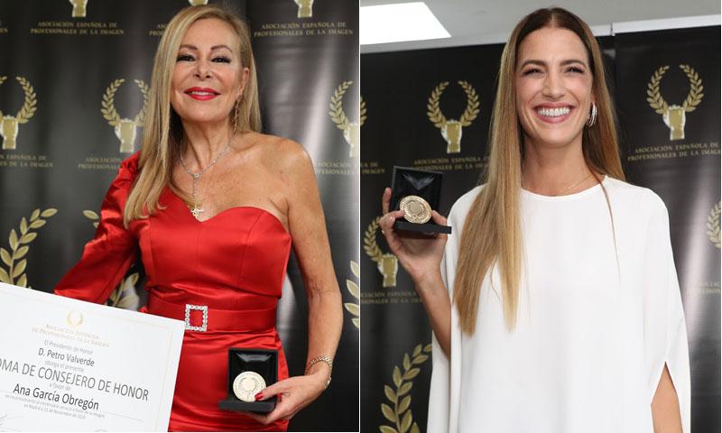 Ana Obregón y Laura Sánchez, premiadas por la Asociación Española de Profesionales de la Imagen