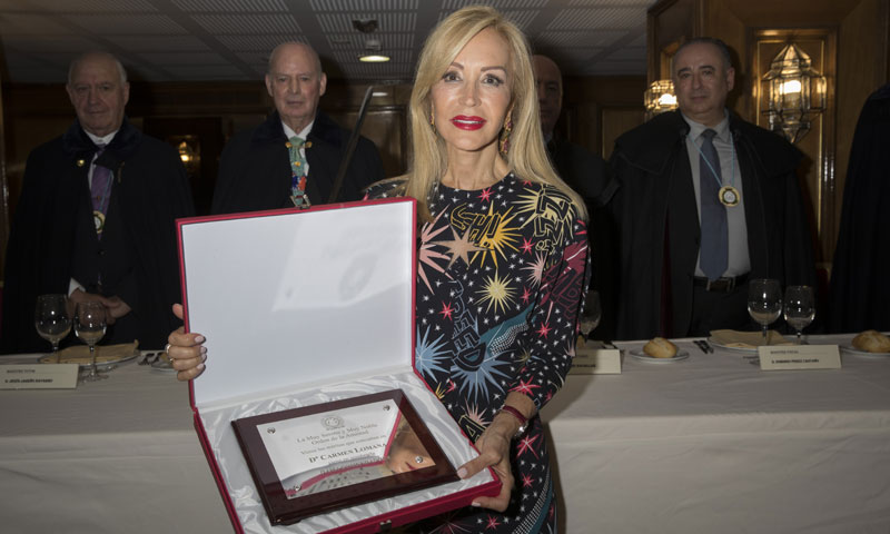 Carmen Lomana, nueva Dama de la Orden de la Amistad