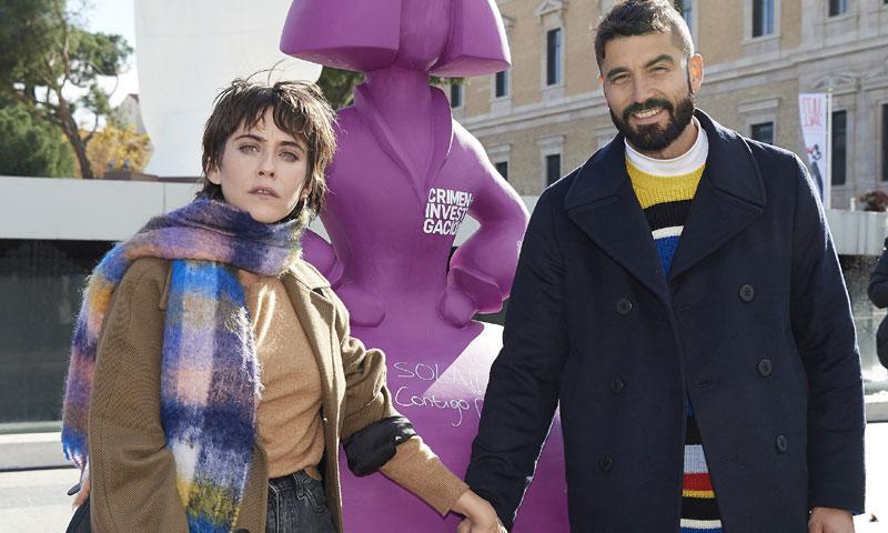 María León y Álex García, unidos contra la violencia de género