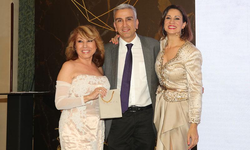 Silvia Jato, maestra de ceremonias de la entrega de premios de la Fundación Zaballos