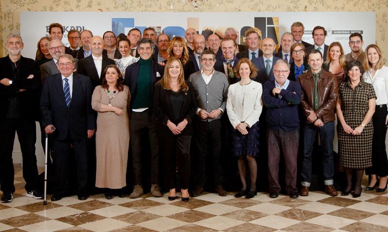 Emma García, Jorge Fernández y Almudena Cid, nuevos embajadores del País Vasco en Madrid