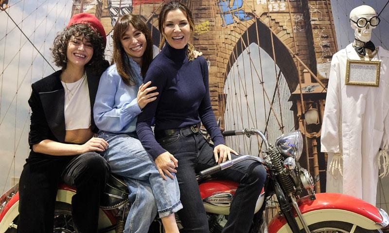 Natalia Verbeke, Mar Flores y Cecilia Goméz asisten a un desayuno navideño y solidario