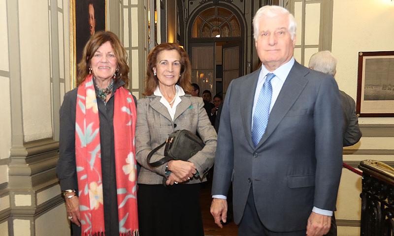 El Duque de Alba y la infanta Margarita celebran el aniversario de la Fundación Hispano Británica