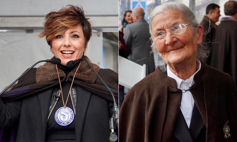 Sonsoles Ónega y Benedicta Sánchez, embajadoras de excepción del cocido de Lalín