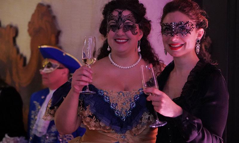 El Club Cultural Italiano celebra el 'Ballo de Tiepolo'