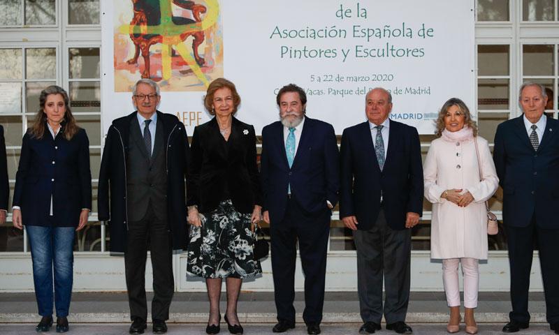 La reina Sofía entrega el 'Premio Reina Sofía de Pintura y Escultura'