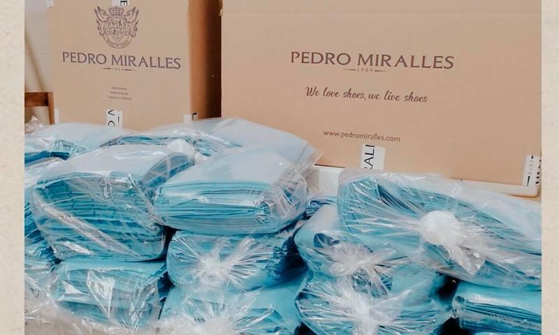 Pedro Miralles se suma a la lucha contra el coronavirus