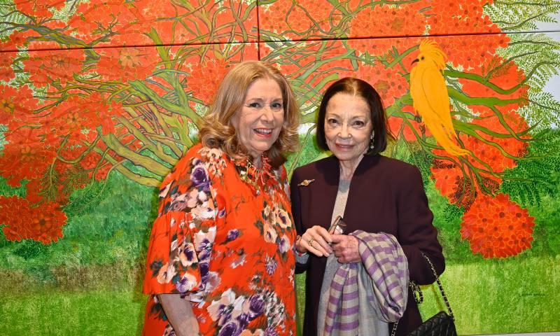 La nueva exposición de Cristina Duclos: una explosión de color y naturaleza