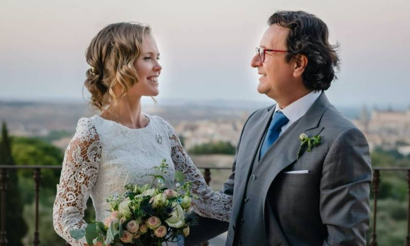 Kajsa y Bernardo: un romántico 'sí, quiero' con vistas al Alcázar de Toledo