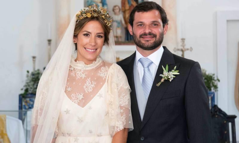 Inês y Sebastião: una boda campestre en el sur de Portugal