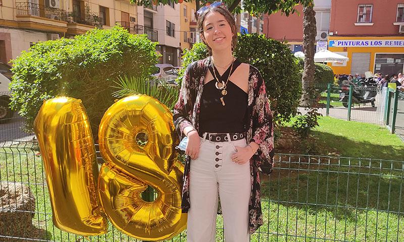 La emotiva fiesta de María Conde por su 18º cumpleaños