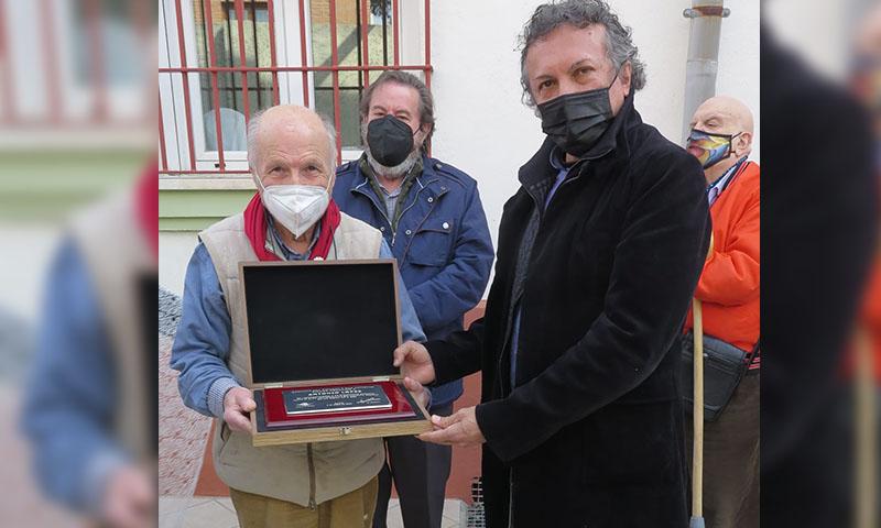 Antonio López, homenajeado por su brillante carrera artística