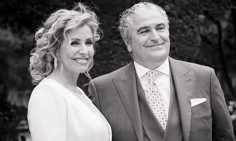 El 'sí, quiero' de Javier Ramírez y Victoria Wharrier en Madrid