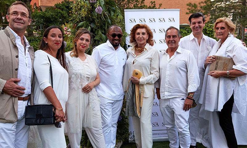 La veraniega 'fiesta en blanco' a la que asistieron varios aristócratas españoles