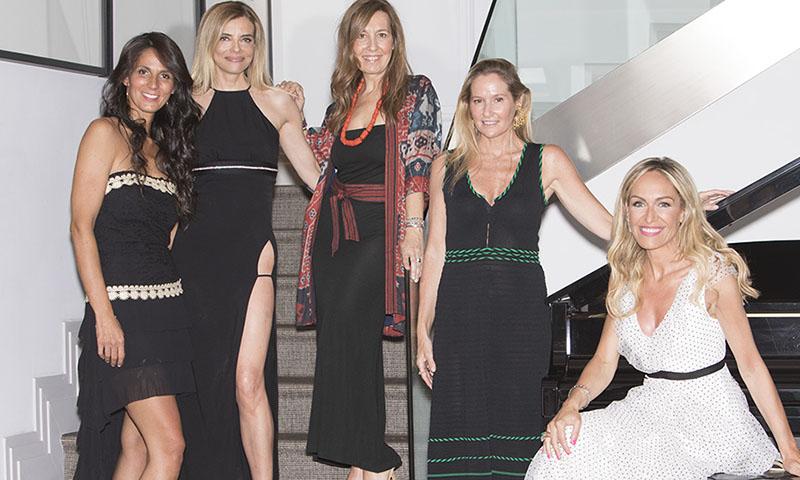 La gran fiesta de Raquel Oliva a la que asistieron Fiona Ferrer y Cristina Castaño