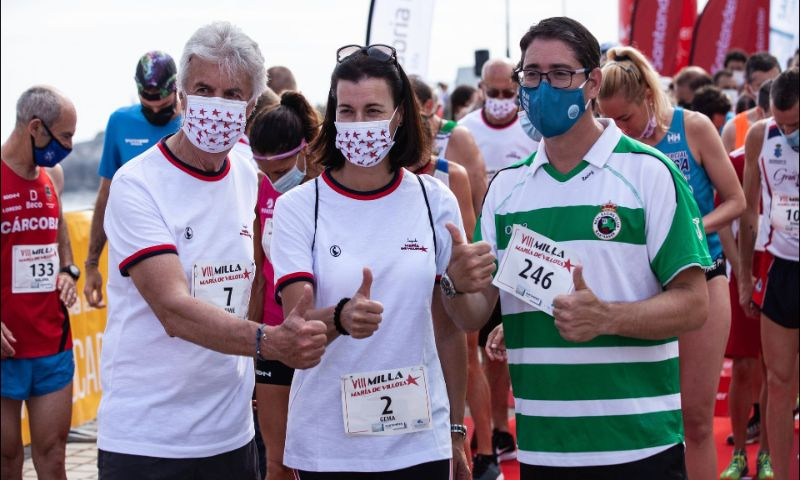 La VIII Milla María de Villota convierte Santander en una fiesta del deporte y la solidaridad
