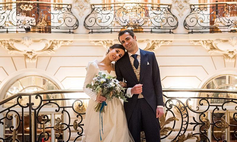 La emocionante boda de Javier y María en el Real Casino de Madrid