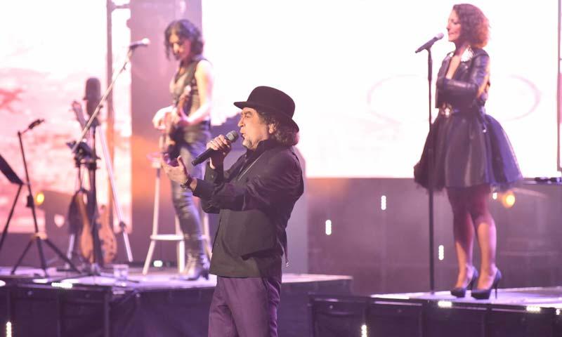 Personajes del mundo de la música y de la televisión apoyan a Joaquín Sabina en su vuelta a los escenarios