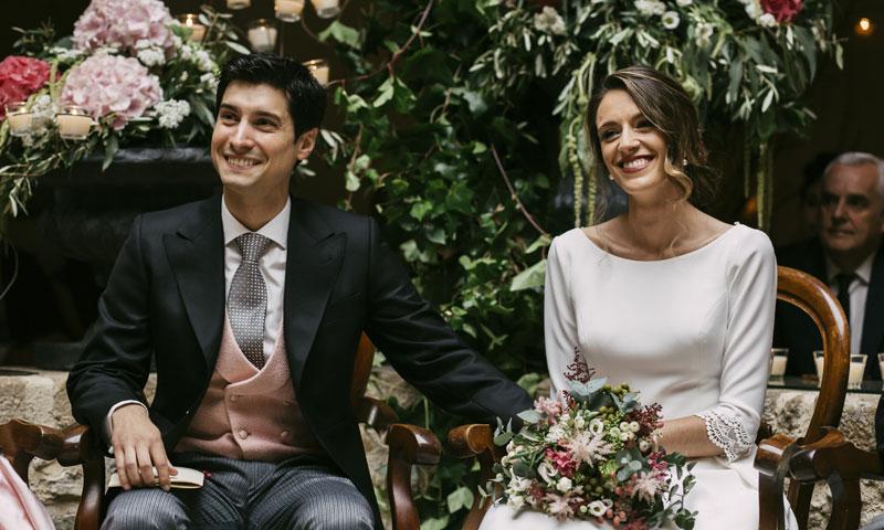 La elegante y emotiva boda de Aida y Alfonso