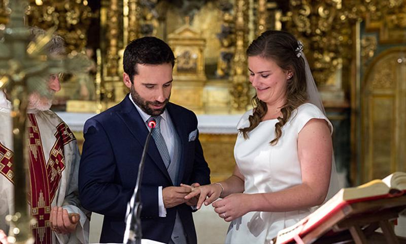 Marta y Jesús, once años de noviazgo y una boda para recordar