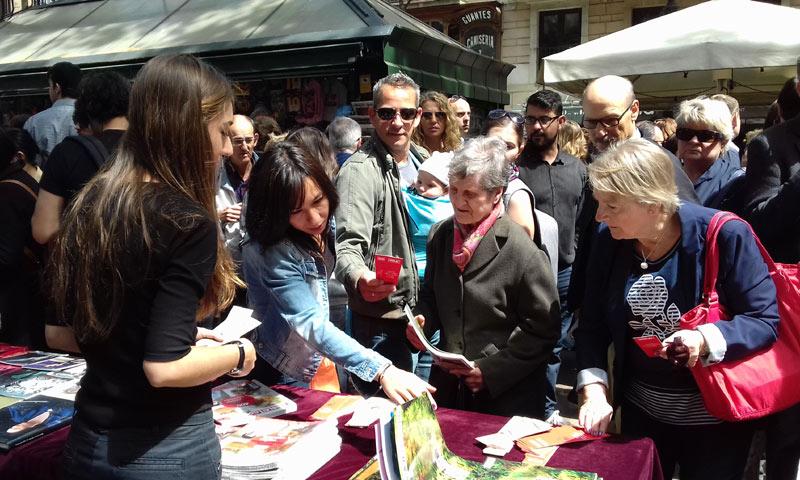 ¡HOLA! se une a Sant Jordi para compartir esta festividad catalana en la ciudad donde nació