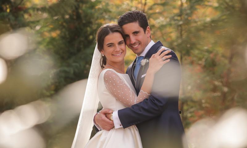 Irene y José, una boda catalana con guiños a Galicia