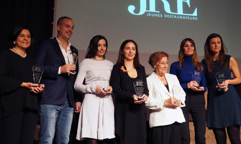La Asociación de Jóvenes Restauradores de España entrega los 'Premios Gastronomía en Femenino'
