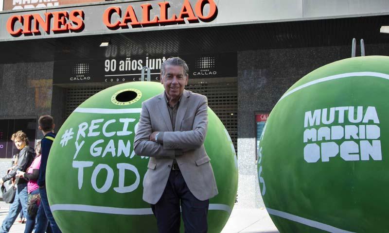 'Mutua Madrid Open': punto de 'break' para el reciclaje