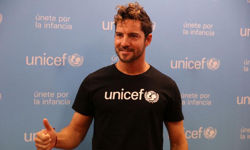 David Bisbal, nombrado Embajador de Unicef España