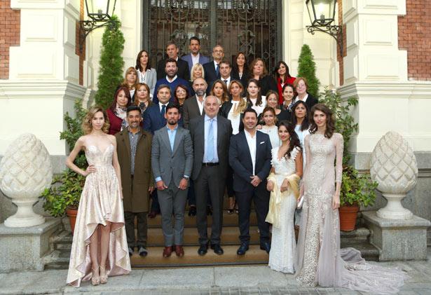 La moda argentina deslumbra en la Pasarela Costura España - Madrid Bridal Week