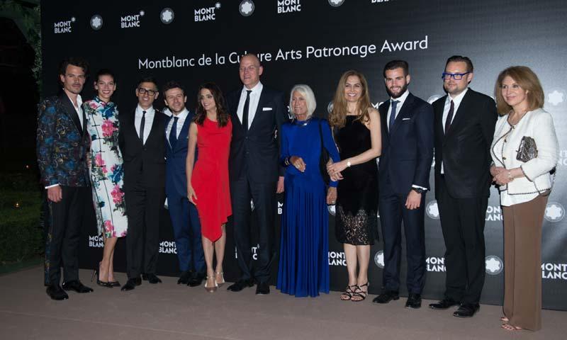 El Palacio de Liria acoge el 'Premio Montblanc de la Cultura en España'